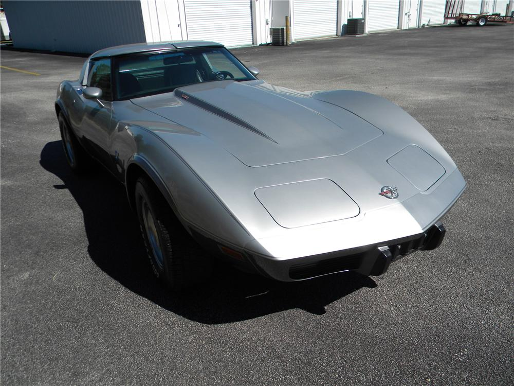 1978 CHEVROLET CORVETTE 2 DOOR COUPE - Front 3/4 - 89063