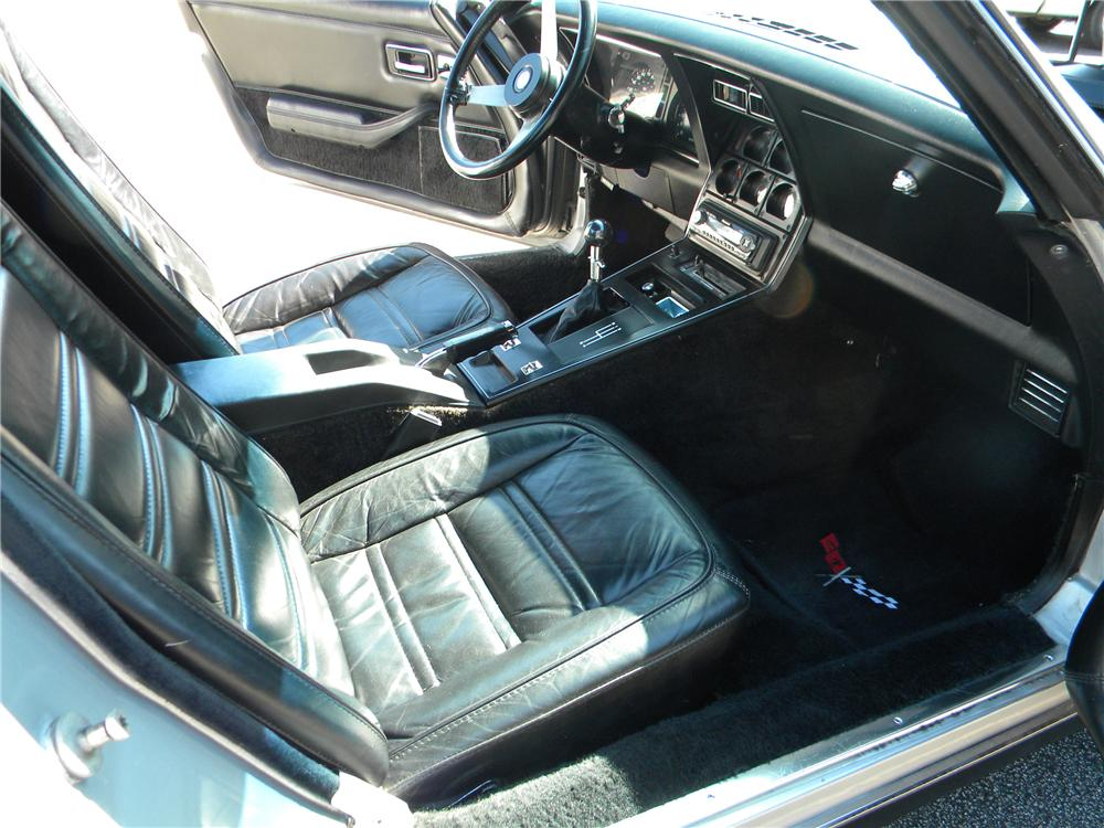 1978 CHEVROLET CORVETTE 2 DOOR COUPE - Interior - 89063