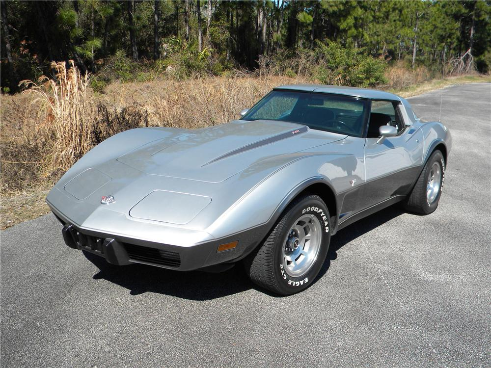 1978 CHEVROLET CORVETTE 2 DOOR COUPE - Side Profile - 89063