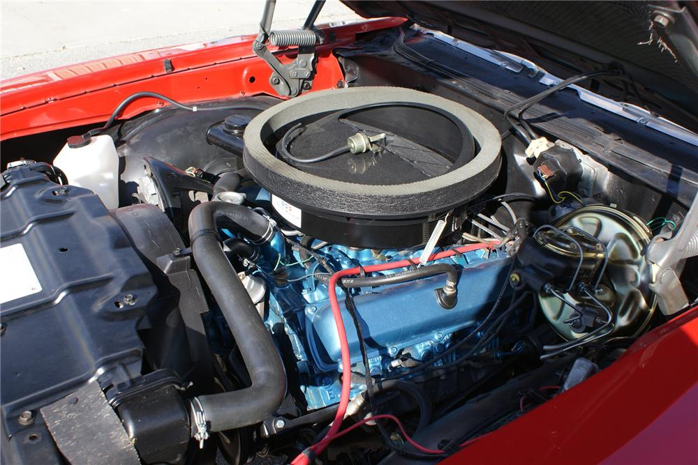 1970 OLDSMOBILE CUTLASS 442 2 DOOR CONVERTIBLE - Engine - 89069