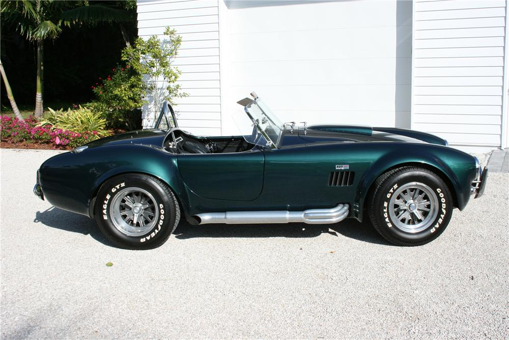 2000 SUPERFORMANCE 427 S/C COBRA RE-CREATION - Side Profile - 89082