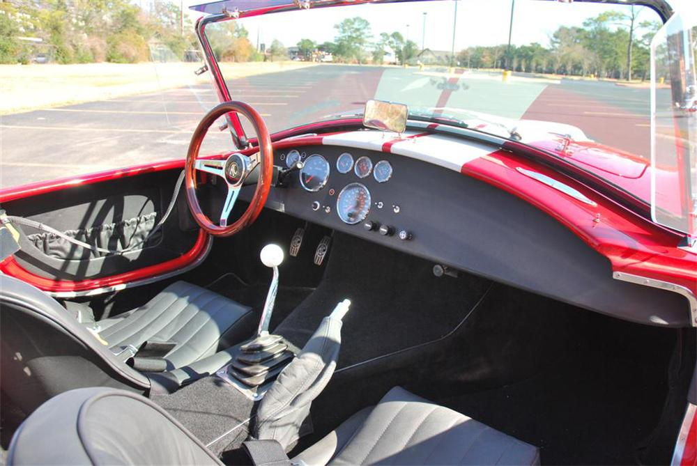 1965 VENOM 427 COBRA RE-CREATION - Interior - 89084