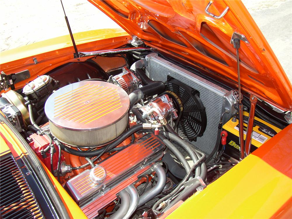 1969 CHEVROLET CAMARO SS CUSTOM COUPE - Engine - 89085