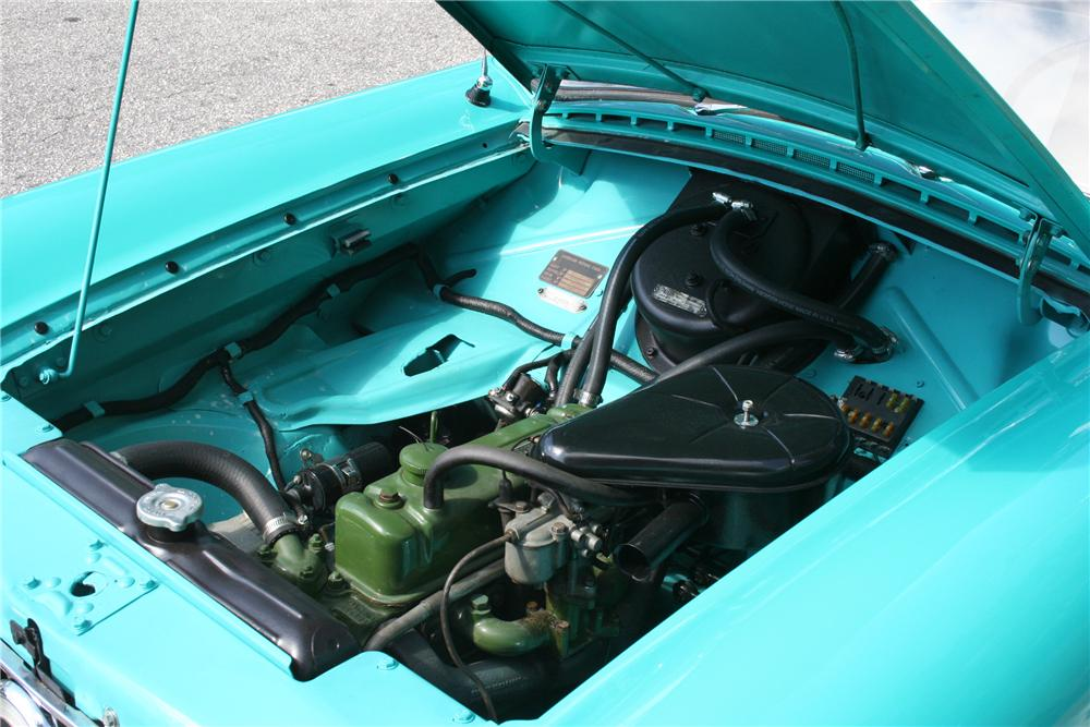 1960 NASH METROPOLITAN 2 DOOR CONVERTIBLE - Engine - 89086