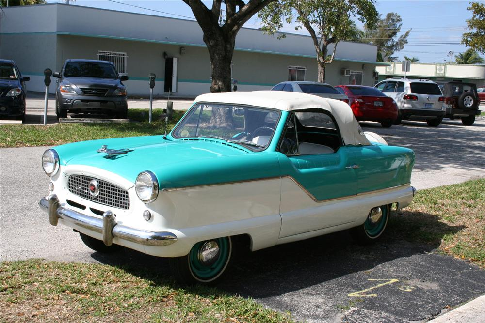 1960 NASH METROPOLITAN 2 DOOR CONVERTIBLE - Front 3/4 - 89086