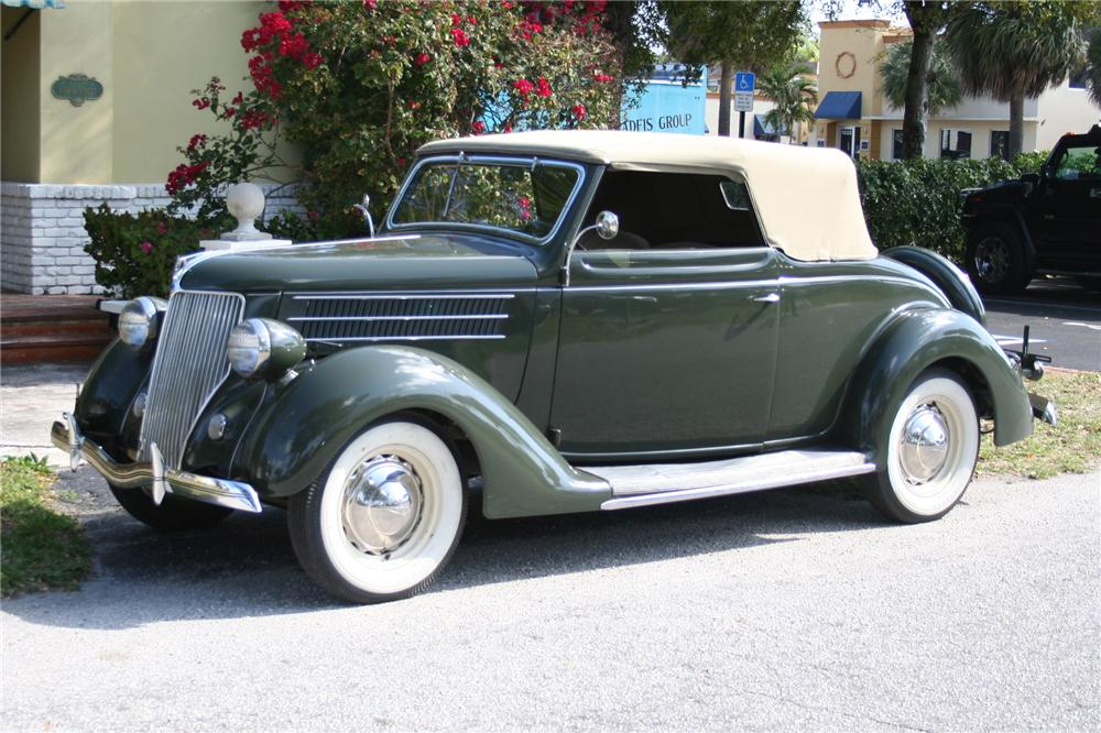 1936 FORD CLUB CABRIOLET - Front 3/4 - 89087