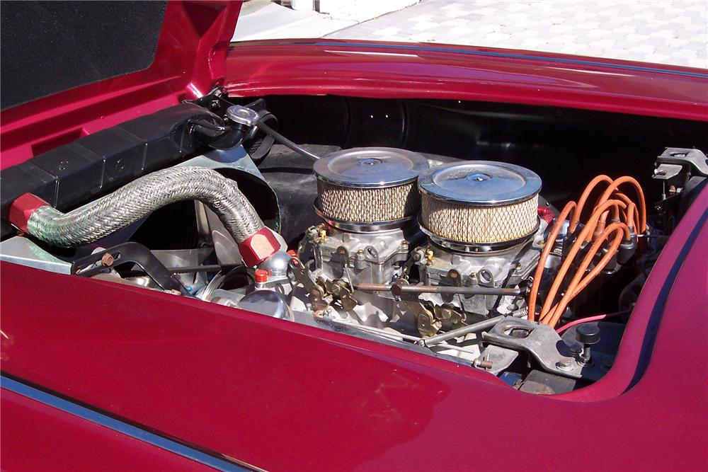 1959 CHEVROLET CORVETTE 2 DOOR CONVERTIBLE - Engine - 89089