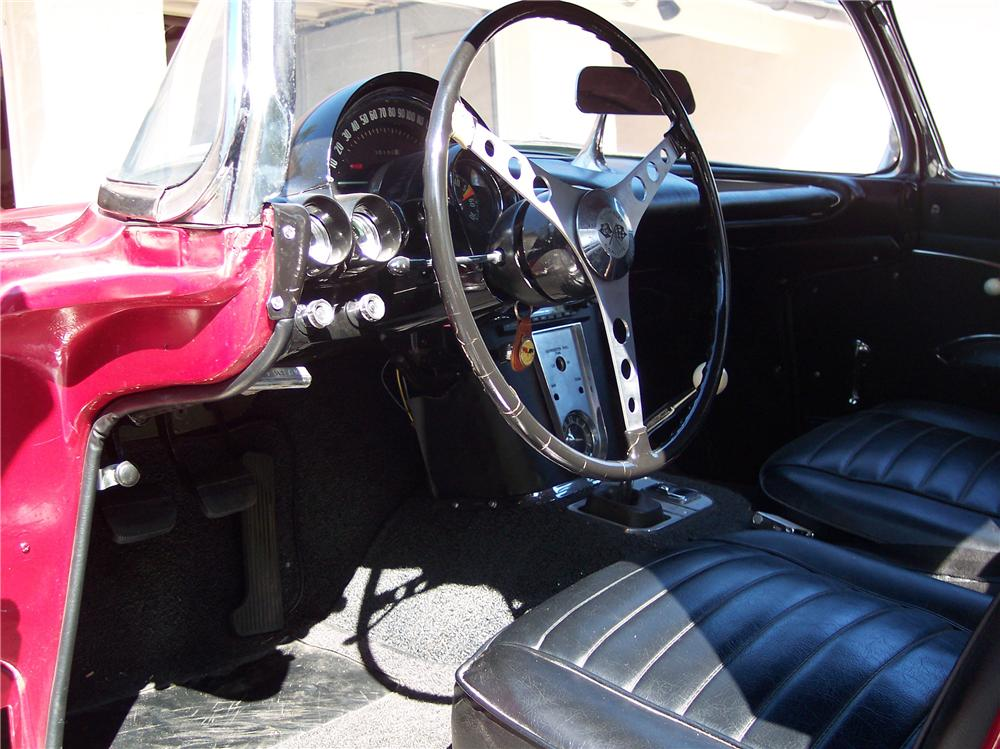 1959 CHEVROLET CORVETTE 2 DOOR CONVERTIBLE - Interior - 89089