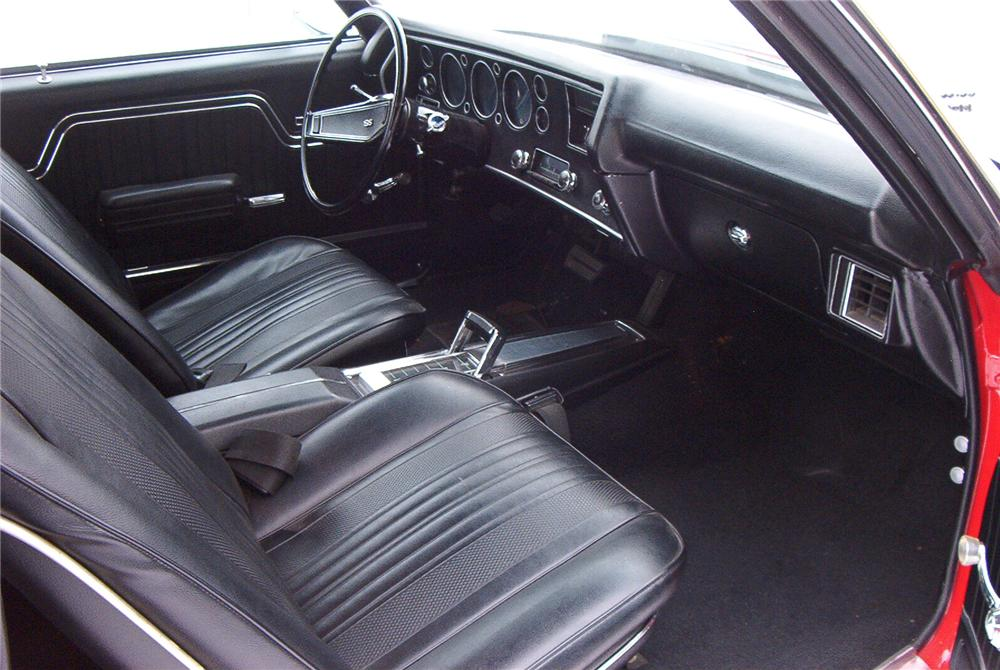 1970 CHEVROLET CHEVELLE 2 DOOR HARDTOP - Interior - 89095