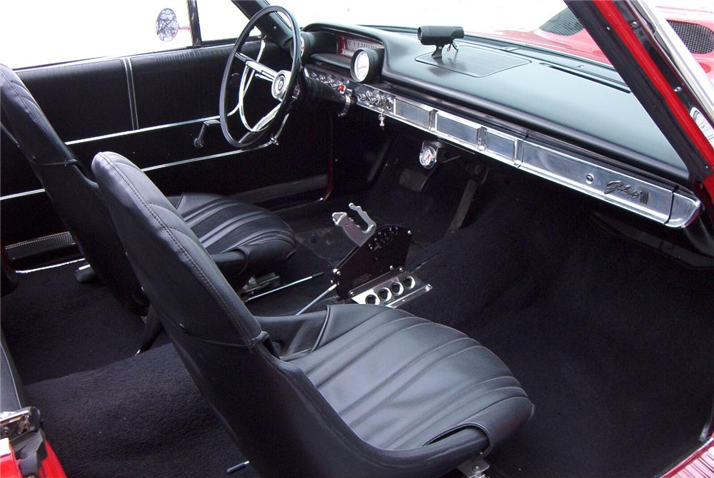 1964 FORD GALAXIE 500 CUSTOM 2 DOOR CONVERTIBLE - Interior - 89098