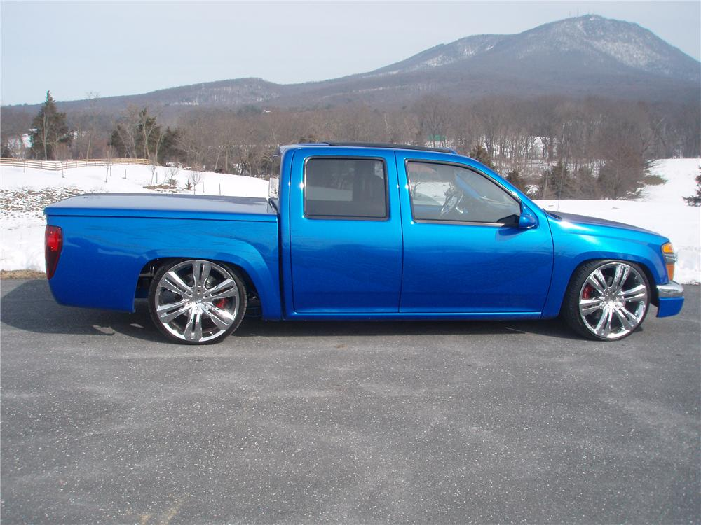 2005 CHEVROLET COLORADO CUSTOM PICKUP - Side Profile - 89106