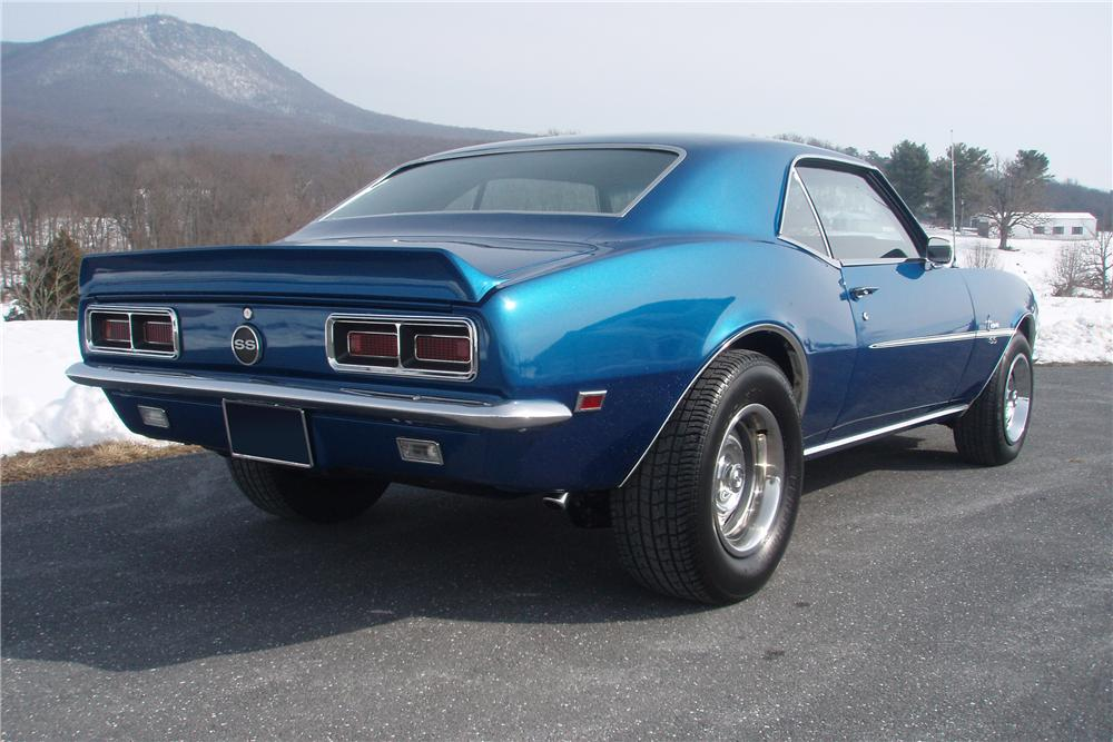 1968 CHEVROLET CAMARO RS/SS 2 DOOR COUPE - Rear 3/4 - 89107