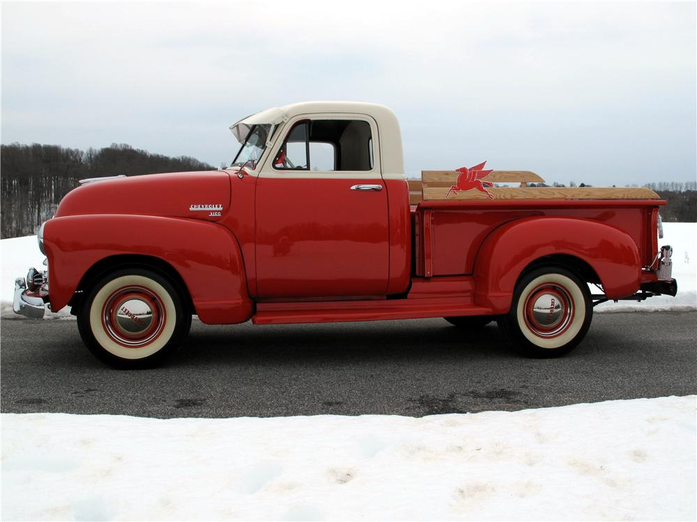 1952 CHEVROLET 3100 PICKUP - Side Profile - 89118