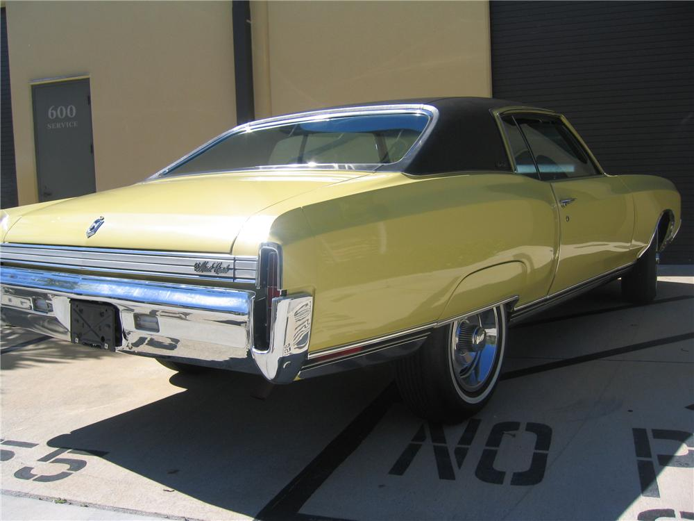1972 CHEVROLET MONTE CARLO 2 DOOR COUPE - Rear 3/4 - 89131