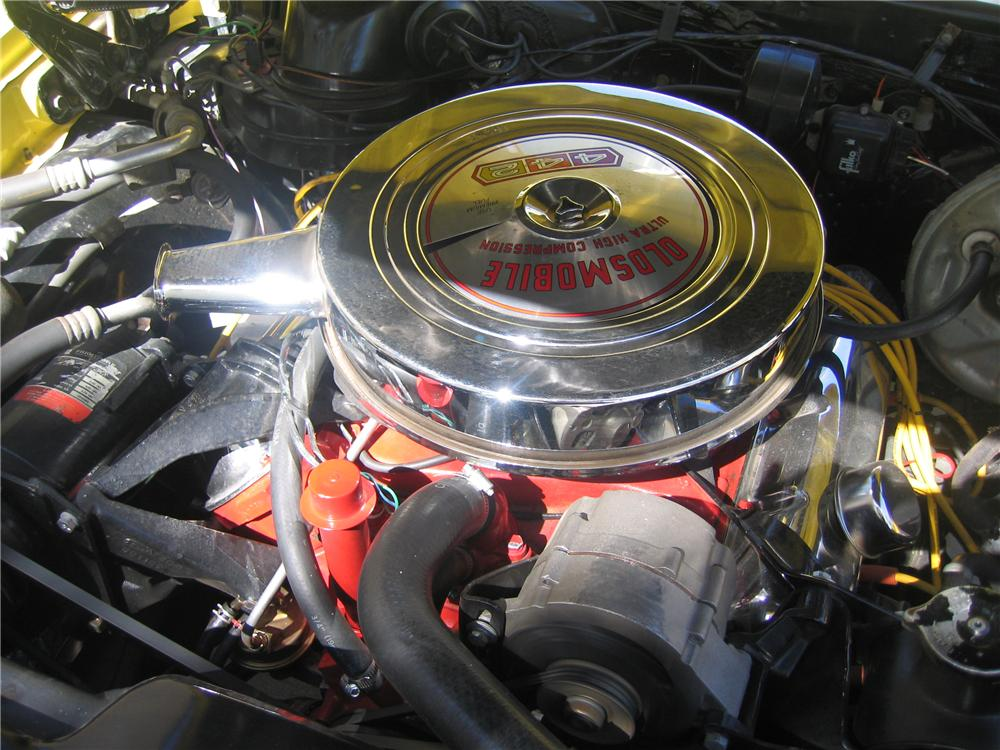 1967 OLDSMOBILE 442 2 DOOR COUPE - Engine - 89134