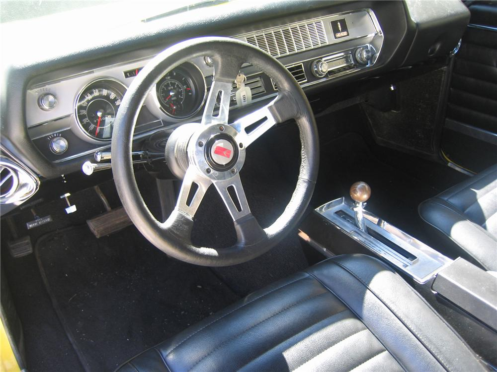 1967 OLDSMOBILE 442 2 DOOR COUPE - Interior - 89134