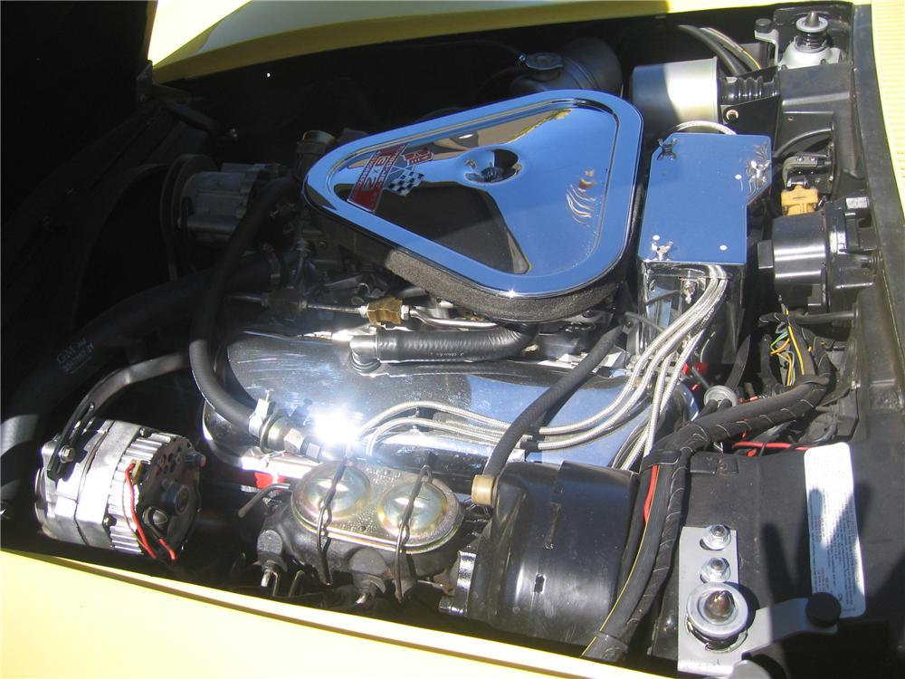 1969 CHEVROLET CORVETTE 2 DOOR COUPE - Engine - 89136