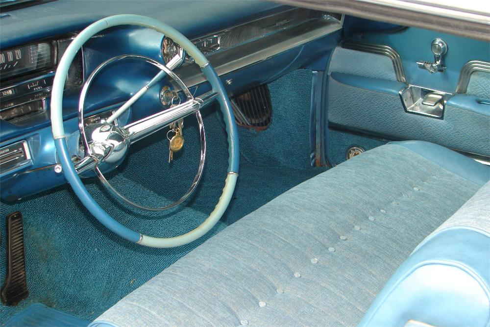 1959 CADILLAC COUPE DE VILLE 2 DOOR COUPE - Interior - 89138