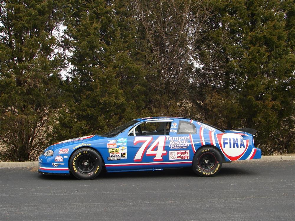 1998 CHEVROLET MONTE CARLO NASCAR - Side Profile - 89141