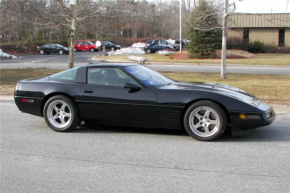 1991 CHEVROLET CORVETTE ZR-1 CUSTOM COUPE - Side Profile - 89146