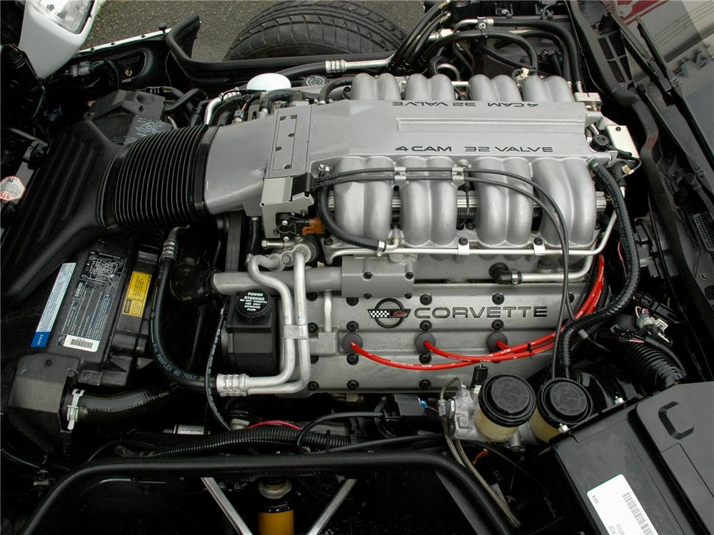1991 CHEVROLET CORVETTE ZR-1 COUPE - Engine - 89151