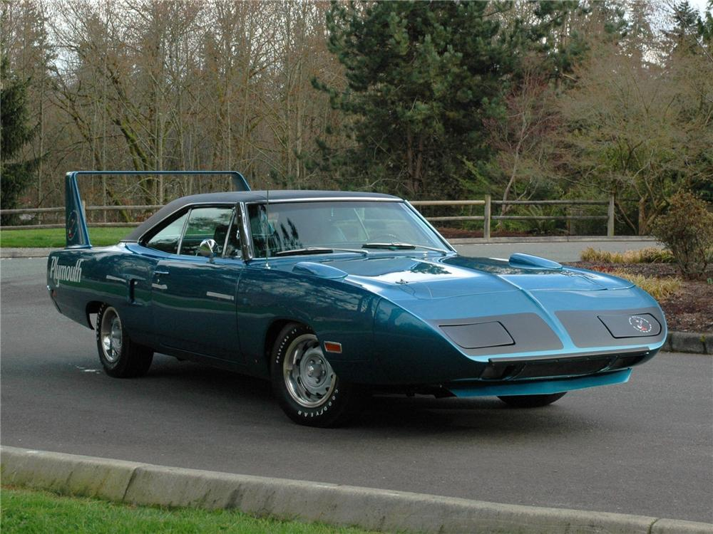 1970 PLYMOUTH SUPERBIRD RE-CREATION - Front 3/4 - 89156