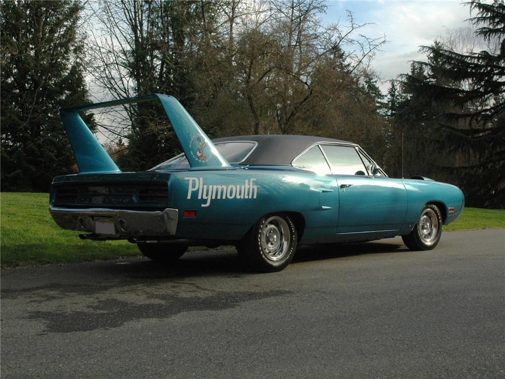 1970 PLYMOUTH SUPERBIRD RE-CREATION - Rear 3/4 - 89156