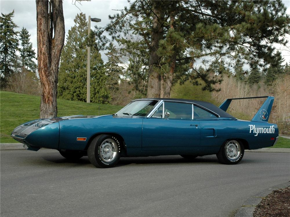 1970 PLYMOUTH SUPERBIRD RE-CREATION - Side Profile - 89156