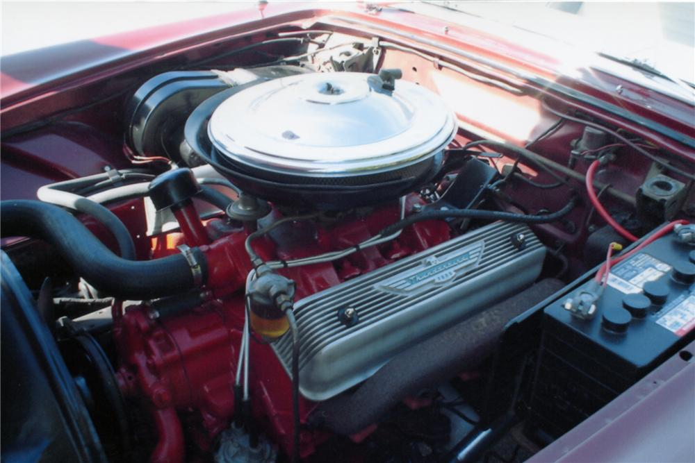 1957 FORD THUNDERBIRD 2 DOOR ROADSTER - Engine - 89165