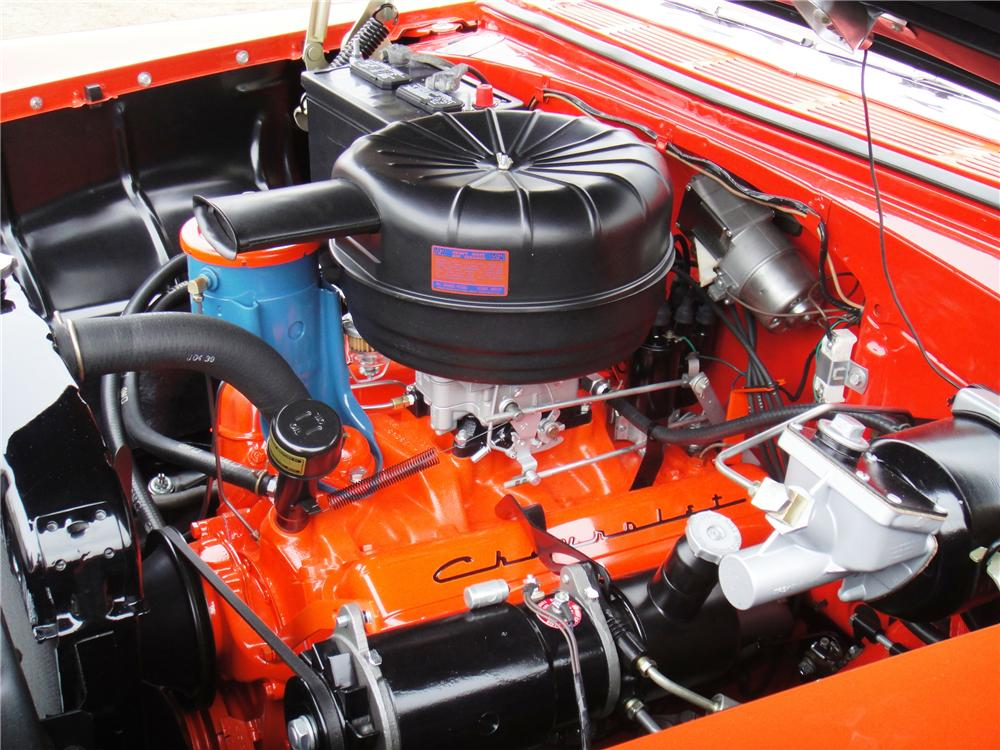 1955 CHEVROLET BEL AIR CONVERTIBLE - Engine - 89171