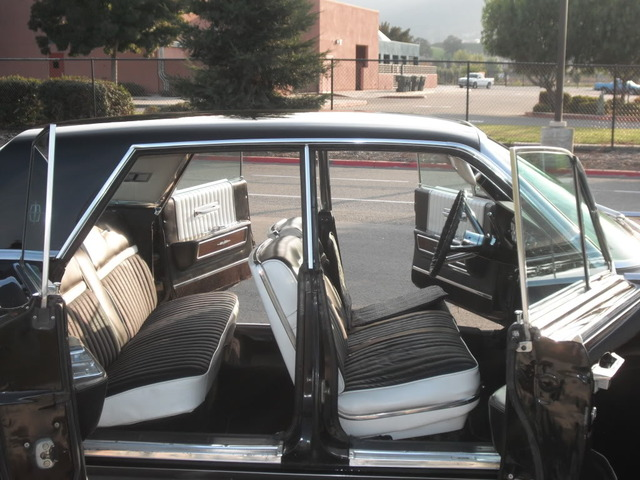 1965 LINCOLN CONTINENTAL 4 DOOR HARDTOP - Interior - 89174