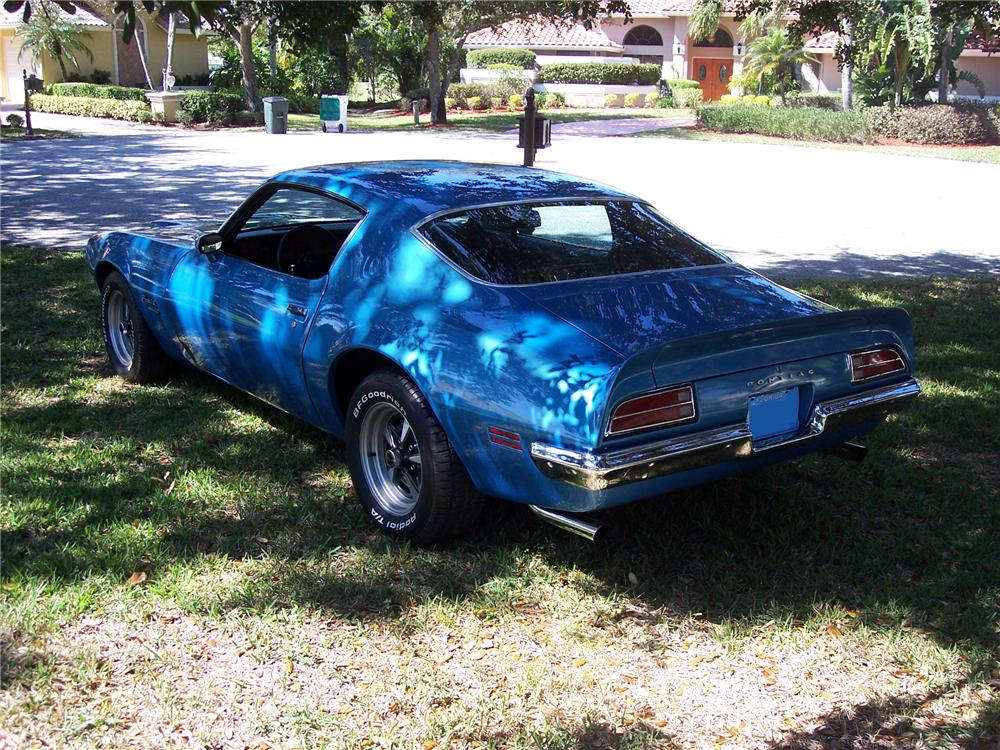1970 Pontiac Firebird 2 Door Coupe 89179