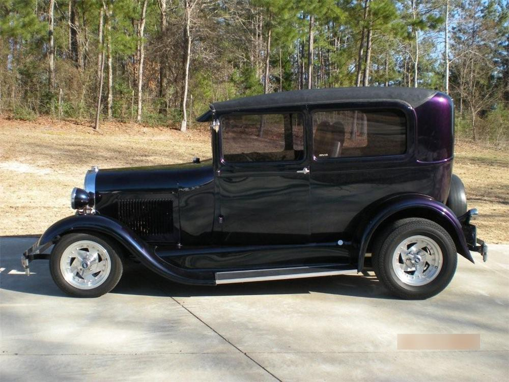 1929 FORD MODEL A CUSTOM 2 DOOR - Side Profile - 89180