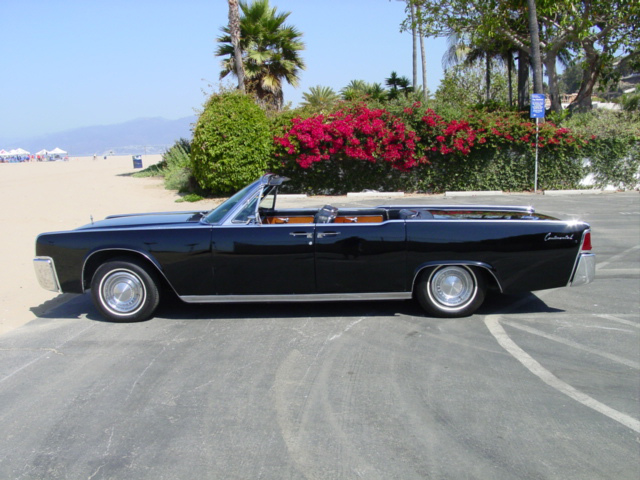 1963 LINCOLN CONTINENTAL 4 DOOR CONVERTIBLE - Side Profile - 89183