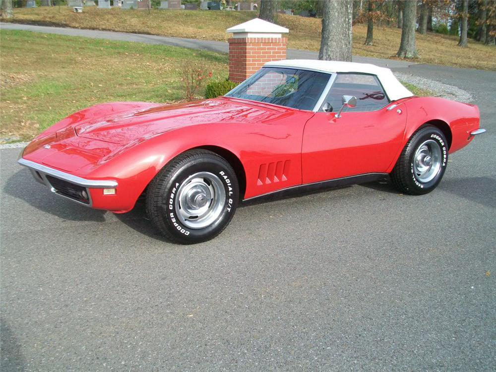 1968 chevrolet corvette convertible 89195. Black Bedroom Furniture Sets. Home Design Ideas