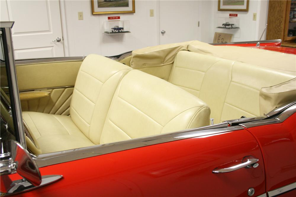 1957 CHEVROLET BEL AIR CUSTOM CONVERTIBLE - Interior - 89201
