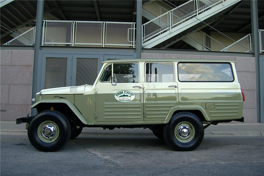 1967 TOYOTA LAND CRUISER 4 DOOR FJ45 - Side Profile - 89206