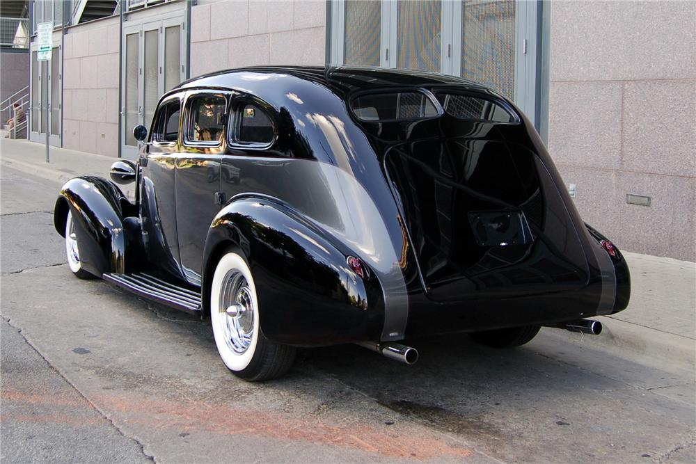 1937 BUICK SERIES 60 CUSTOM 4 DOOR SEDAN - Rear 3/4 - 89208