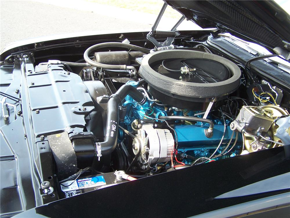 1970 OLDSMOBILE CUTLASS 442 CONVERTIBLE - Engine - 89211