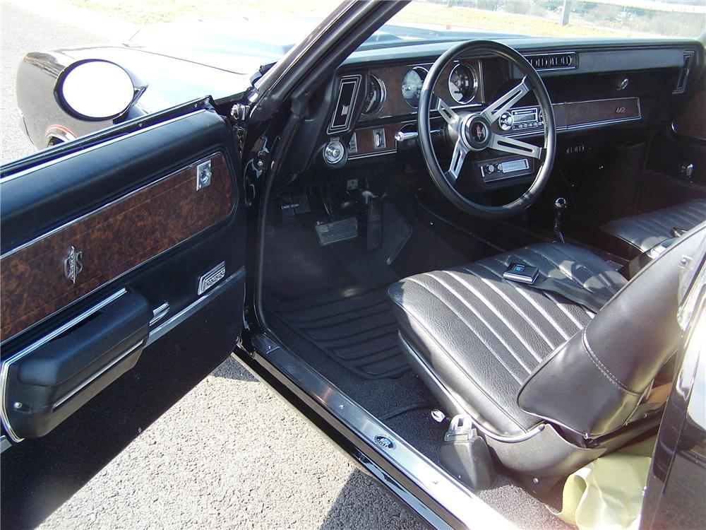 1970 OLDSMOBILE CUTLASS 442 CONVERTIBLE - Interior - 89211