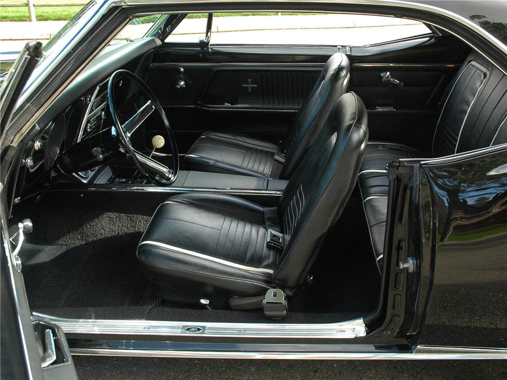 1967 CHEVROLET CAMARO RS COUPE - Interior - 89213