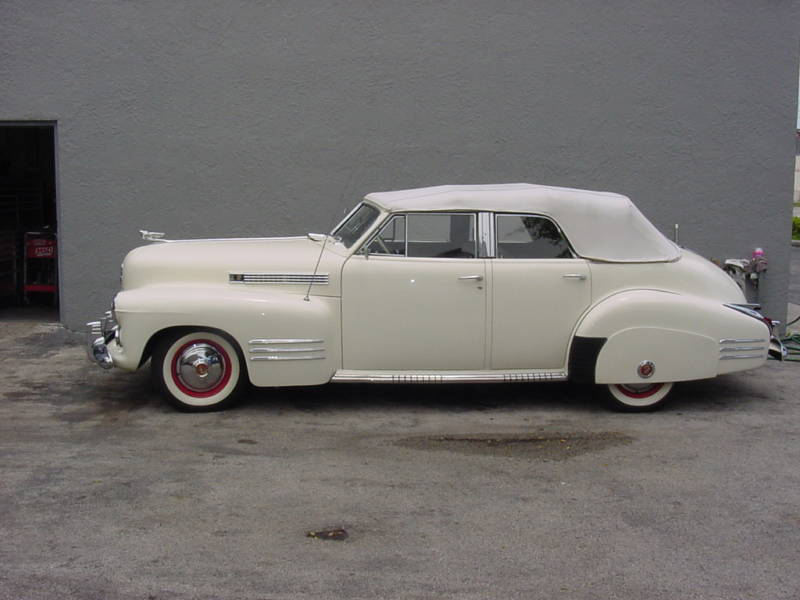 1941 CADILLAC SERIES 62 4 DOOR CONVERTIBLE - Side Profile - 89216