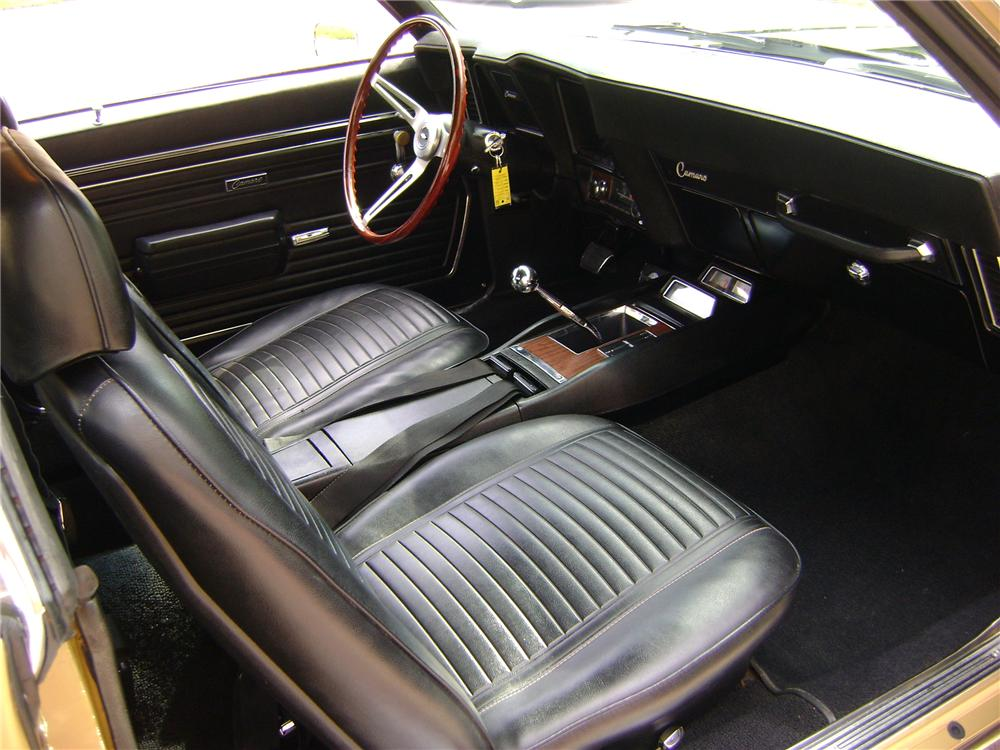 1969 CHEVROLET CAMARO Z/28 2 DOOR COUPE - Interior - 89222