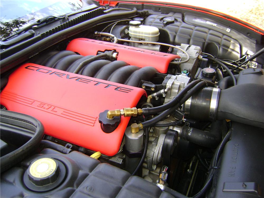 2002 CHEVROLET CORVETTE Z06 COUPE - Engine - 89223
