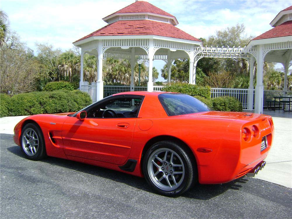 2002 CHEVROLET CORVETTE Z06 COUPE - Rear 3/4 - 89223