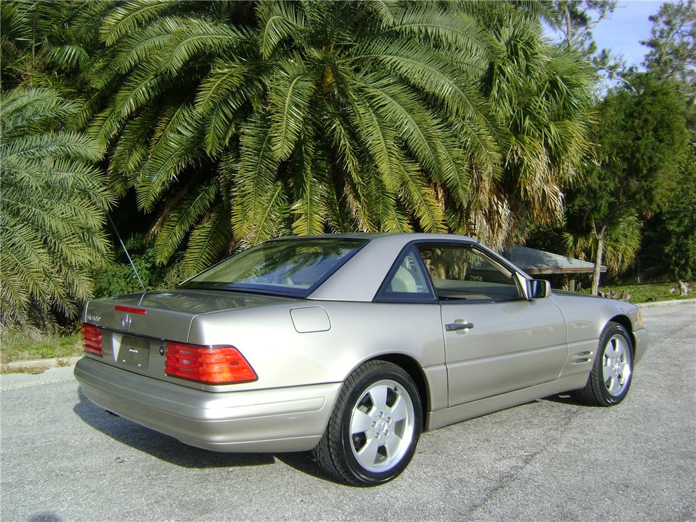 1998 MERCEDES-BENZ 500SL 2 DOOR CONVERTIBLE - Rear 3/4 - 89228