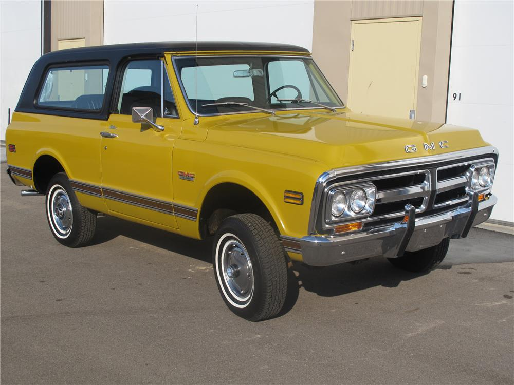 1971 GMC JIMMY 4X4 - Front 3/4 - 89229