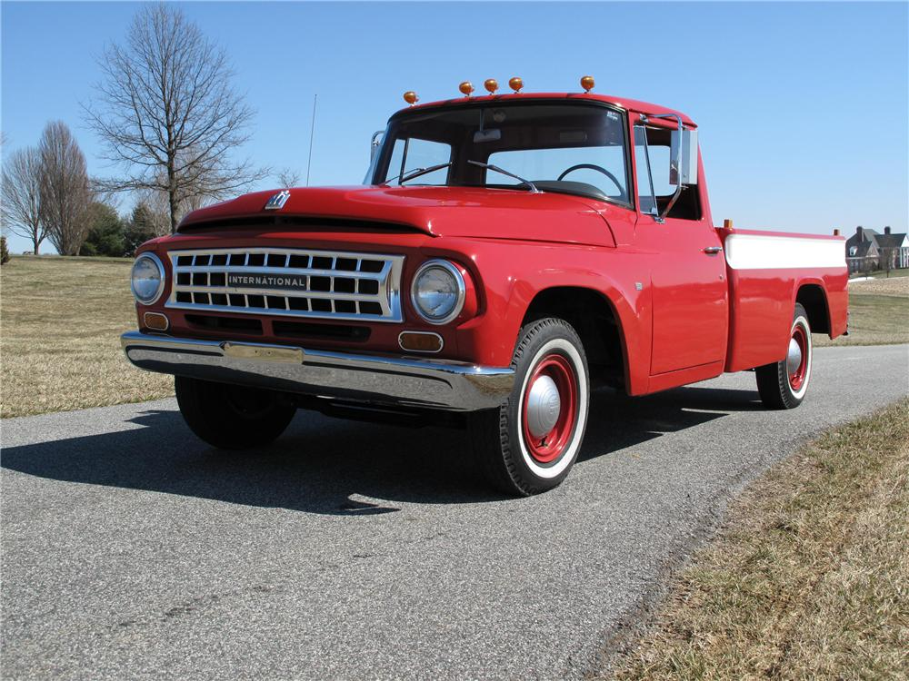 1964 INTERNATIONAL 1100 PICKUP - Front 3/4 - 89277