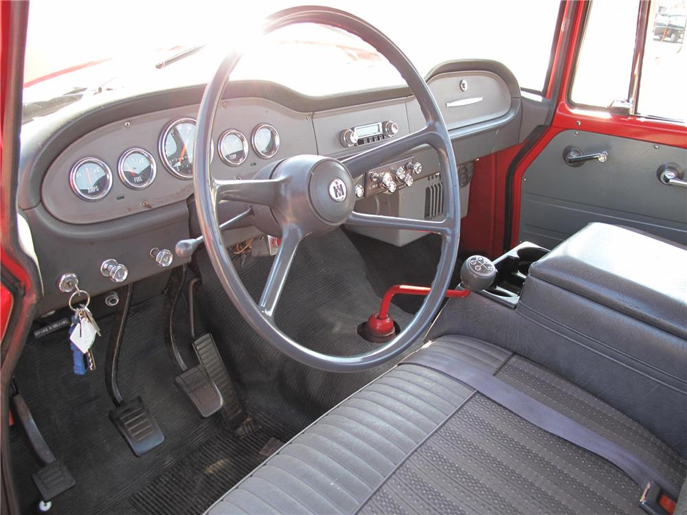 1964 INTERNATIONAL 1100 PICKUP - Interior - 89277
