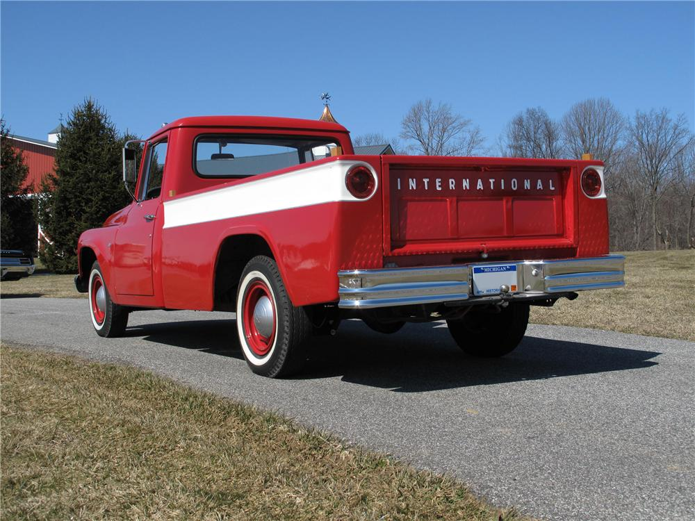 1964 INTERNATIONAL 1100 PICKUP - Rear 3/4 - 89277